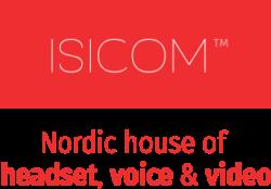 IsiCom Red Tagline Vertical